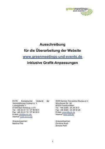 EVVC Europäischer Verband der Veranstaltungs-Centren e. V. - GCB