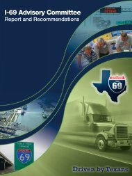 I-69 Advisory Committee - Welcome to the Texas Department of ...
