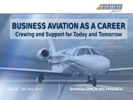 Business Aviation as a Career: Crewing and Support for ... - eBace
