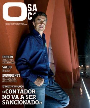 REVISTA DE OCIO, SALUD Y CALIDAD DE VIDA Semana del 9 al ...