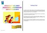 Réglement des aides financières individuelles - Caf.fr