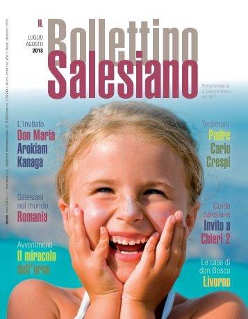 Scarica il BS in formato PDF - Bollettino Salesiano - Don Bosco nel ...