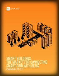 Smart Buildings: The Market for Connecting Smart Grid with BEMS