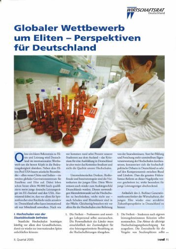 Globaler Wettbewrb um Eliten... - German Scholars Organization