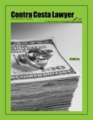 Family Law - Contra Costa County Bar Association