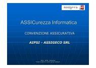 Soluzione assicurative per la sicurezza informatica - Aica