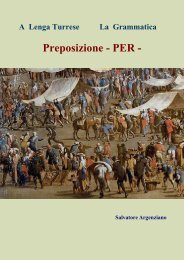 Preposizione - PER - - Vesuvioweb
