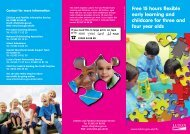Free Flexible Early Learning and Childcare - Luton Borough Council