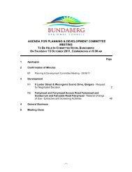 AGENDA FOR PLANNING & DEVELOPMENT COMMITTEE MEETING