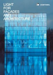 LIGHT FOR FAÇADES AND ARCHITECTURE - Kroma