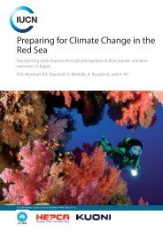 Preparing for Climate Change in the Red Sea - IUCN