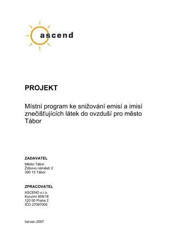 Místní program - Město Tábor