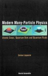Atomic Gases, Quantum Dots and Quantum Fluids Enrico ... - diegm