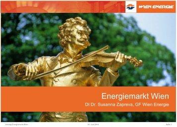 Der Energieverbrauch in Wien - energytalk