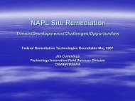 NAPL Site Remediation - Federal Remediation Technologies ...