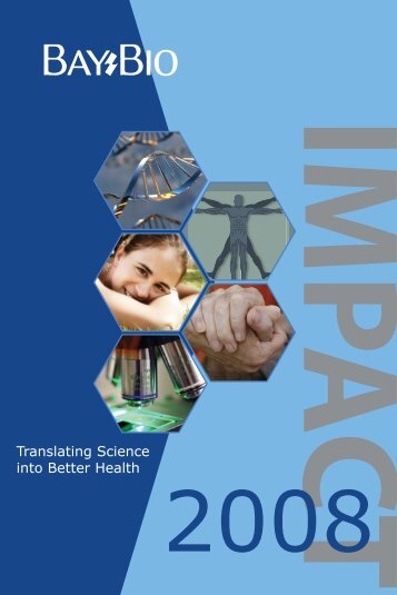 Translating Science into Better Health - The Burrill Report