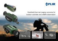 Handheld thermal imaging cameras for outdoor ... - FLIR Systems