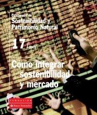 Cómo integrar sostenibilidad y mercado - Fundación Banco Santander
