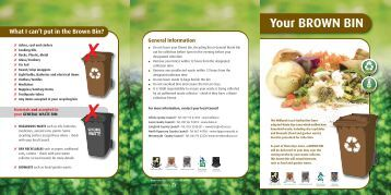 Brown Bin Leaflet - Westmeath County Council