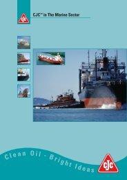Marine Brochure - CJC in the Marine Sector - Cjc.dk