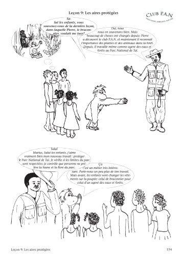 Leçon 9: Les aires protégées