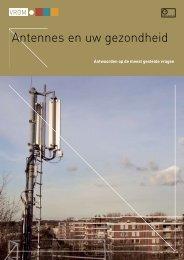 Antennes en uw gezondheid - Antennebureau