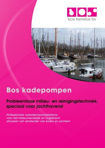 Brochure - Bos Benelux BV