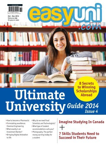 easyuni Ultimate University Guide 2014: Issue 4