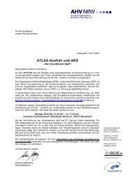 ATLAS-Ausfuhr und AEO - Außenwirtschaftsportal Nordrhein ...