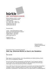 Dipl.-Ing. Johannes Bürkle zu Gast in der Redaktion - Betonwerk ...