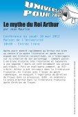 Le mythe du Roi Arthur - Page 2