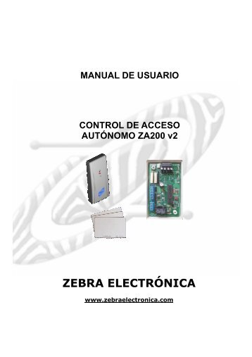 Manual ZA200_v2a Sep-08.pdf - Zebra Electronica