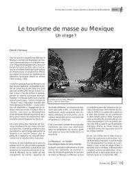 Le tourisme de masse au Mexique - DanielHiernaux.Net