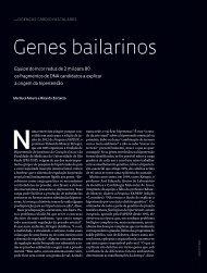 Genes bailarinos - Revista Pesquisa FAPESP