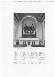 Folge 27 / 1932: Ludwigshafen Herz-Jesu - Orgelbau Klais Bonn