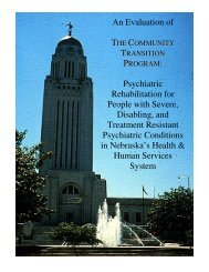 An Evaluation of the Community Transition Program - Psychology ...