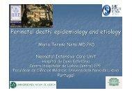 Perinatal death - Repositório do Centro Hospitalar de Lisboa ...