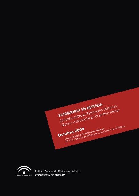 Actas de las jornadas (6.71 Mb) - IAPH. Instituto Andaluz del ...