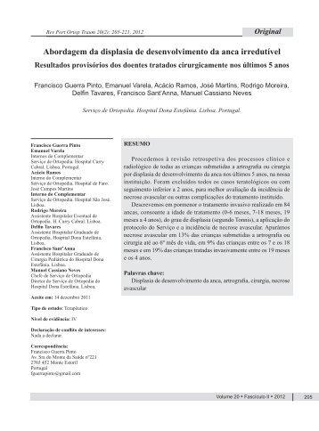 RPOT 2012 205.pdf - Repositório do Centro Hospitalar de Lisboa ...