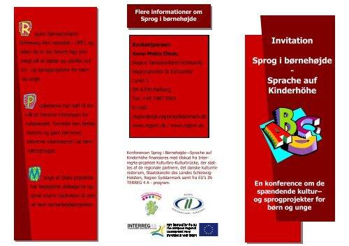 Se invitationen her som pdf. - Kulturfokus
