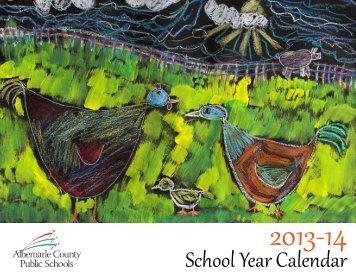 School Year Calendar - Albemarle County Public Schools