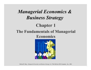 manajerial economic and business strategy Available in: hardcover this ninth edition of managerial economics and business strategy has been revised to include updated examples and problems, but it.