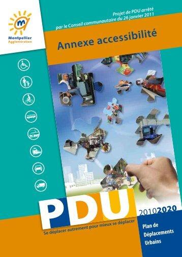 Annexe accessibilité - Montpellier Agglomération