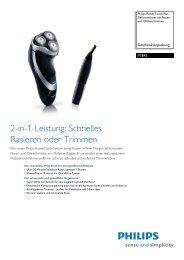 Leaflet PT845 18 Released Germany (German) High-res ... - Philips