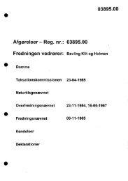 03895.00 Afgørelser - Reg. nr.: 03895.00 - Naturstyrelsen