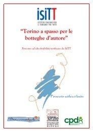 26. Percorso Torino Botteghe d'Autore - Turismabile