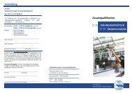 Zusatzqualifikation Innungsgeprüfte/r Objektleiter/in