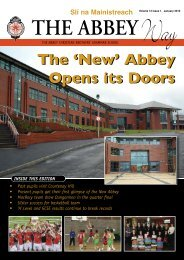 Newsletter Jan 05 - The Abbey Christian Brothers' Grammar School
