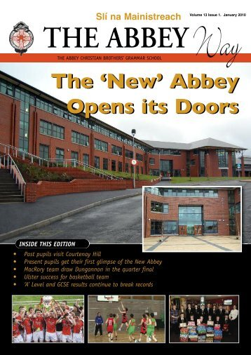 Newsletter Jan 05 - The Abbey Christian Brothers' Grammar School