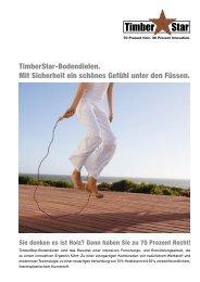 TimberStar-Bodendielen. Mit Sicherheit ein schönes ... - Gate24.ch